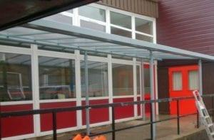St Thomas Moore School Shelter
