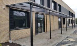 Shelter we designed for Starbank Junior School