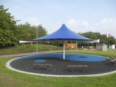 Summerhill School Umbrella Canopy