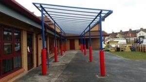 Swindon Primary School Canopy