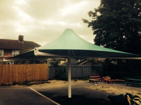 Sydney Russel School Umbrella Canopy