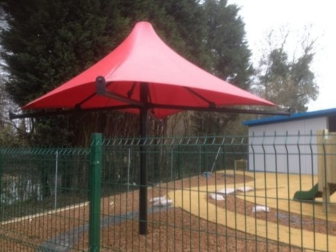 Thakeham Pre School Umbrella Canopy