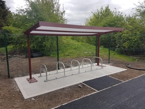 Thameside Primary School Cycle Shelter