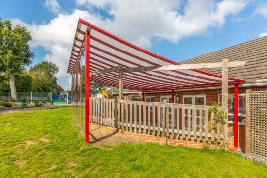 The Beacon School Canopy