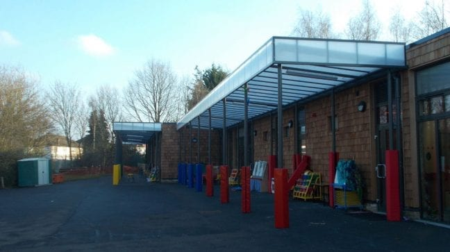 Uxendon Primary School Shelter