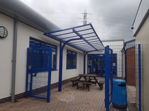 Warren Wood School Shelter