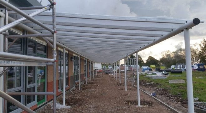 Weeton County Primary School Canopy
