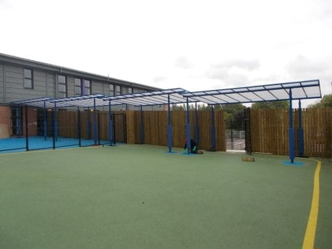West Oaks School Canopy