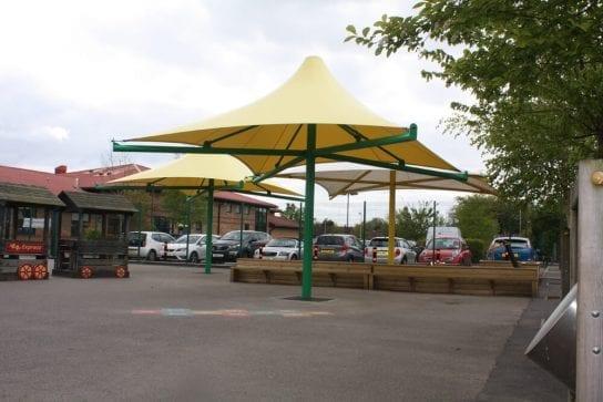 Westmorland School Umbrella Canopies