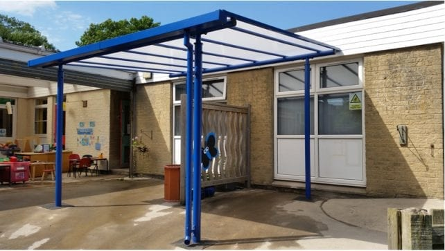Wharncliffe Primary School Shelter
