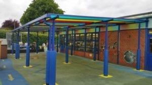 Shelter designed for Whitegate Primary School
