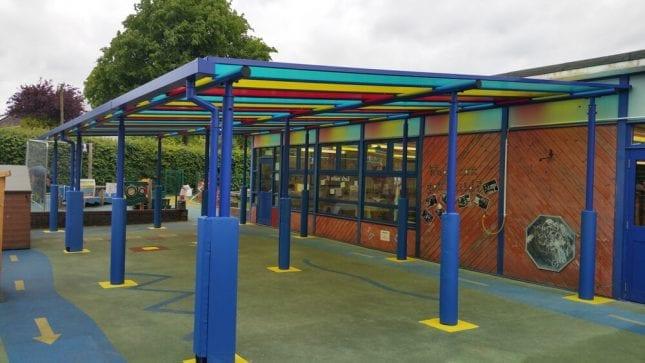 Whitegate Primary School Shelter