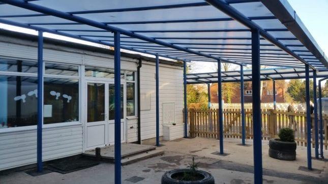 Wilmcote C of E School Shelter