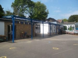 Wilmcote Primary School Shelter