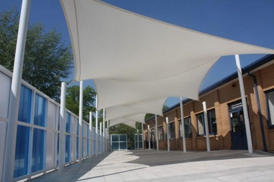 Wilmslow High School Bespoke Shade Sail