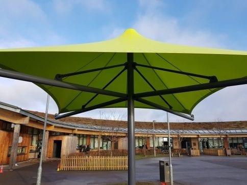 Woodlands Primary School Umbrella Canopy