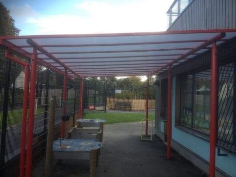 Wyre Forest School Playground Shelter