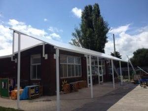 Yardley Wood Community School Shelter