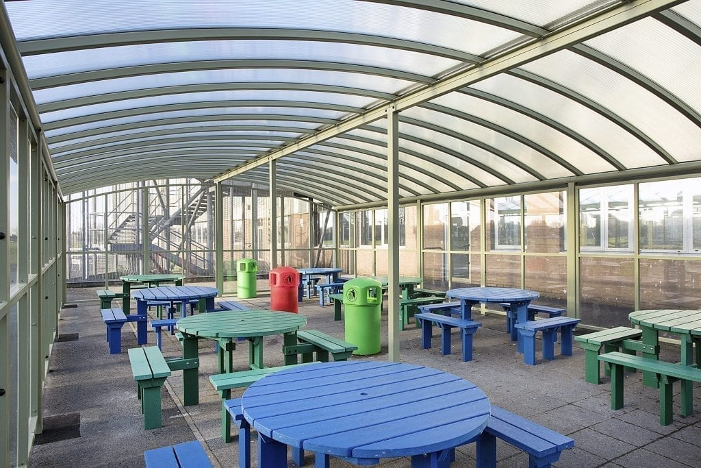 Our Lady's RC High School Dining Canopy