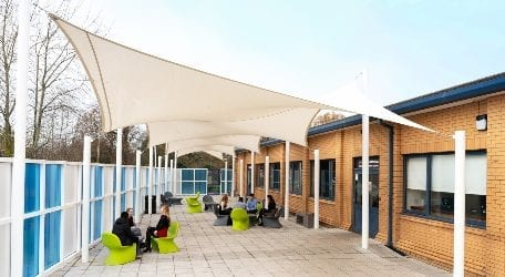 Wilmslow High School Bespoke Shade Sails