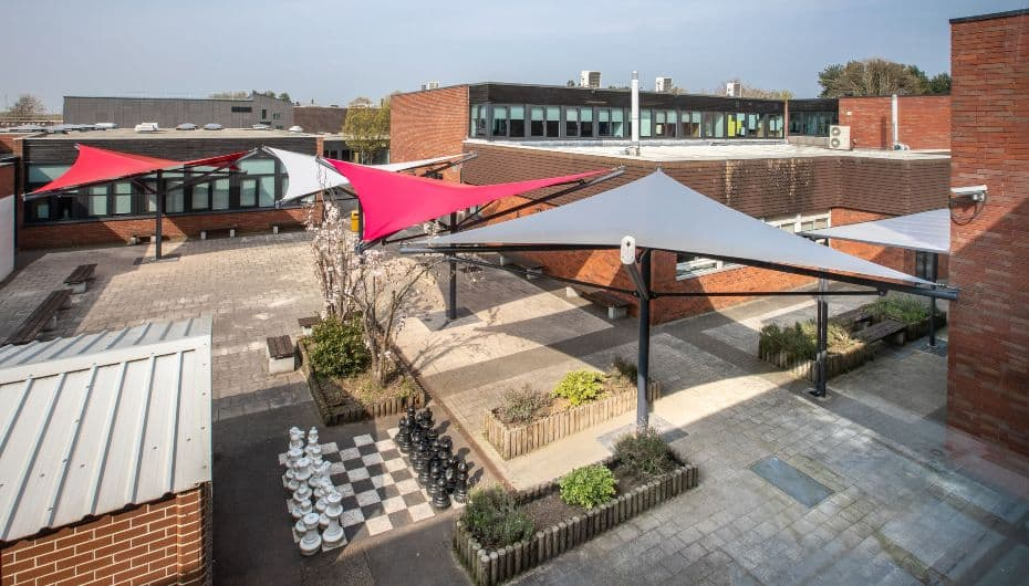 Sails added to Aldersley High School