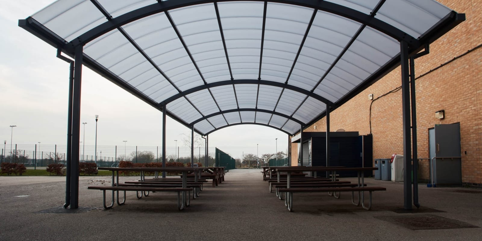 Canopy we made for Blessed John Henry Newman RC College