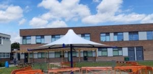 Canopy designed for Charters School