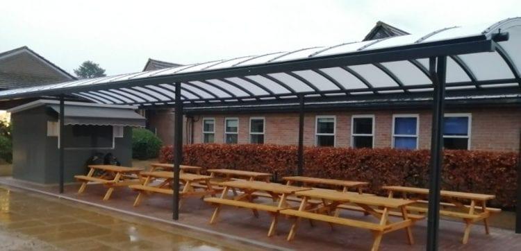 Chesham Grammar School Canopy