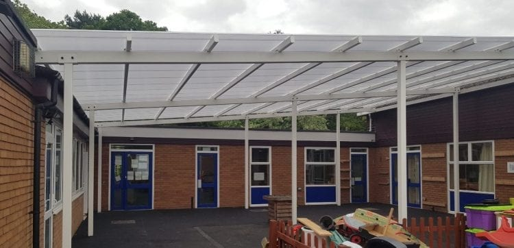 Hollinswood Primary School Shelter