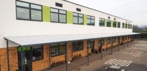 Canopy we designed for Lime Tree School