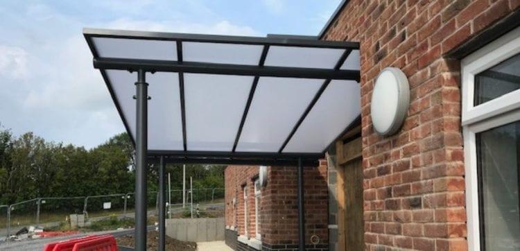 Mynydd Mawr Hospital Entrance Canopy