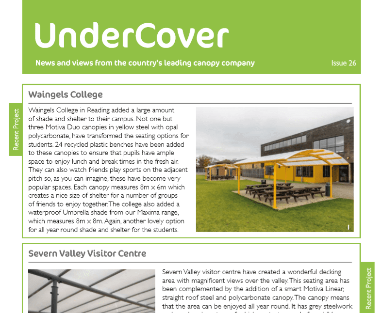 UnderCover Newsletter Cover Issue 26