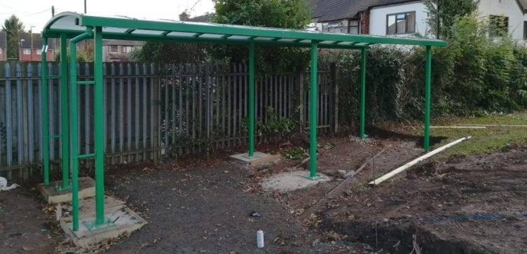Park Gate Primary School Green Shelter