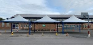 Canopies made for Penketh High School