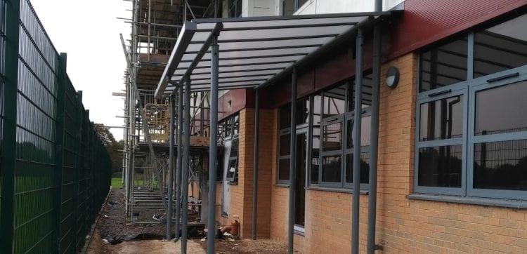 Springwell Academy Canopy