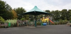 The Bridge Primary School Umbrella Shelter