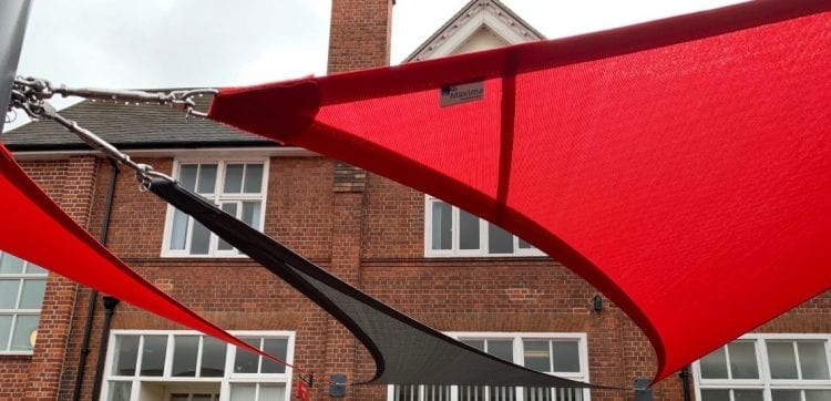 Sail we fitted at University of Reading