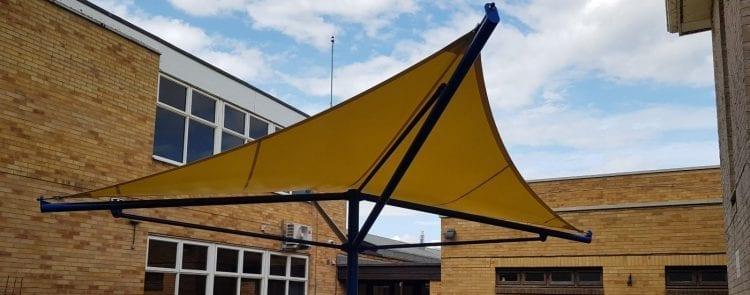 City College Peterborough Umbrella Canopy