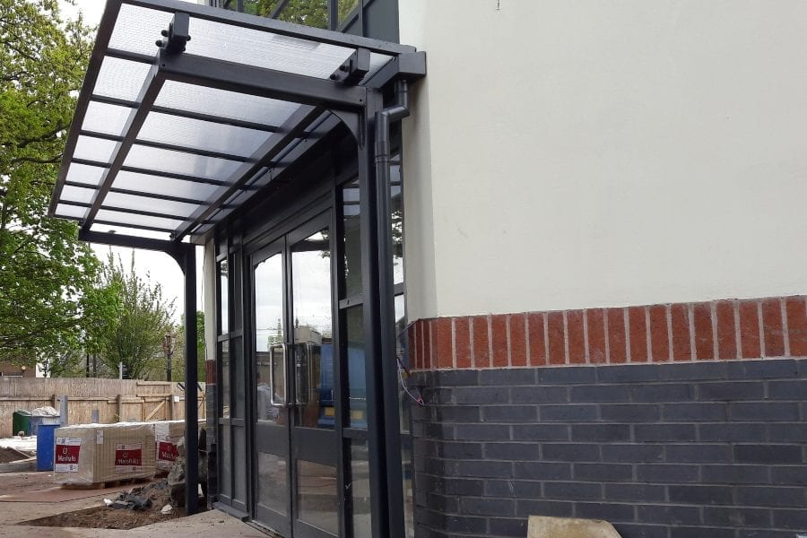 Willowbrook Care Home Entrance Canopy