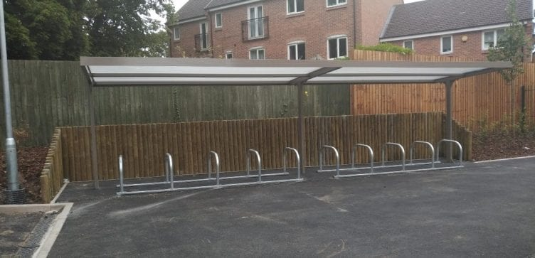 Harborne Primary School Cycle Shelter