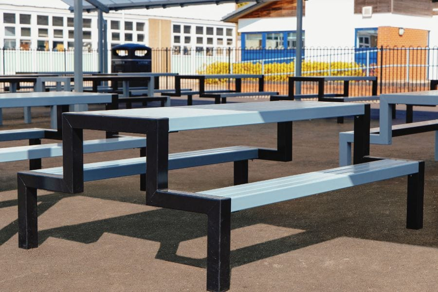 Hercules bench at John Taylor High School