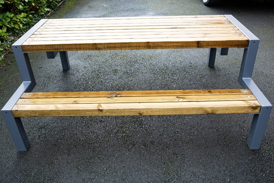 Hercules Wooden Bench