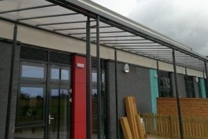 Shelter we designed for Morpeth First School