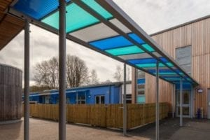 Shelter designed for St Nicholas Primary School