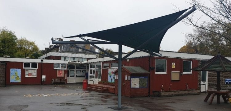 St Pauls CE Primary School Shade Sail