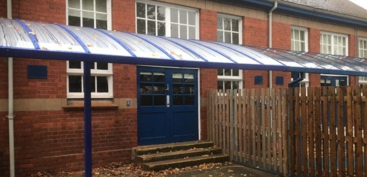 Stockingford Primary School Canopy