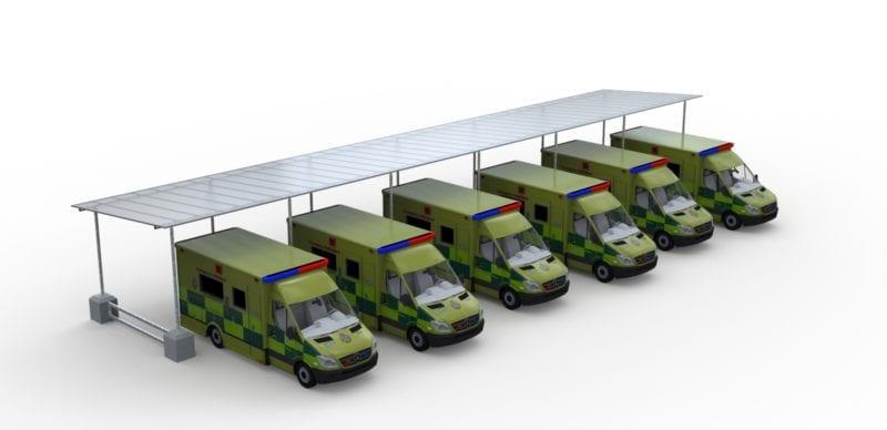 Rapid Deployment Canopy System