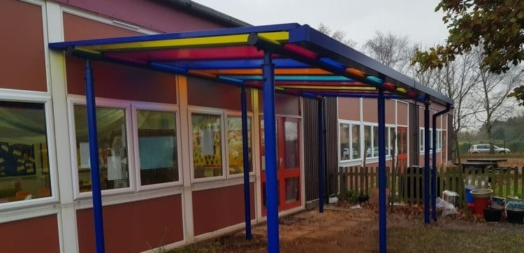 Blenheim Park Academy Canopy
