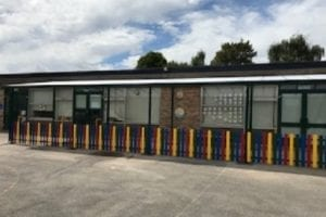 Canopy we fitted at Cam Everlands Primary School