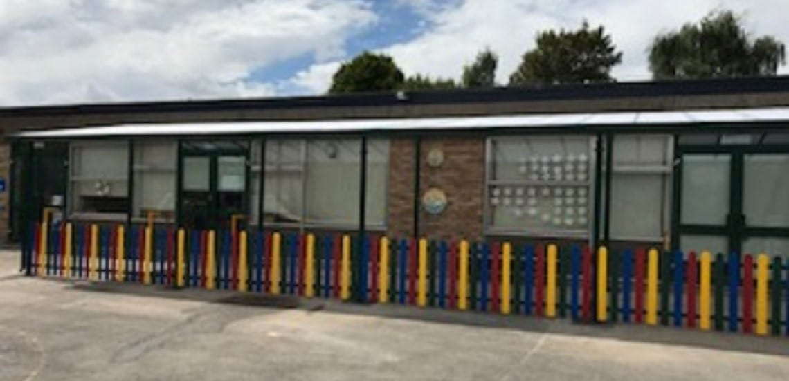 Shelter we made for Cam Everlands Primary School